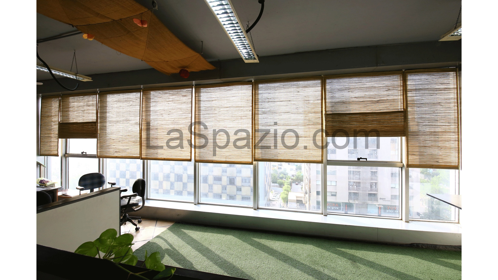 Laspazio Modern Interior Curtain View